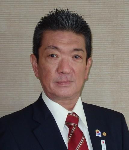 広島空港ロータリークラブ会長写真